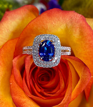 Simon G Sapphire and Diamond Ring MR1920