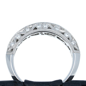 Simon G LP1259 Diamond Band in Platinum