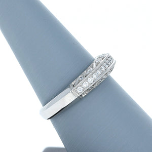 Simon G Diamond Wedding Band in Platinum LP1259