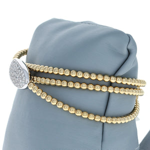Simon G Diamond Bracelet in 18K Yellow Gold Bracelet LB2153-Y