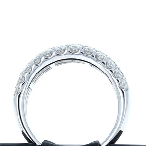 Simon G Diamond Band in 18K White GoldLR1174