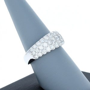 Simon G Diamond Band in 18K White Gold LR1174