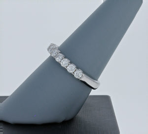Simon G Diamond Band in 18K White Gold LP2347
