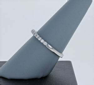 Simon G Diamond Band in 18K White Gold TR653-B