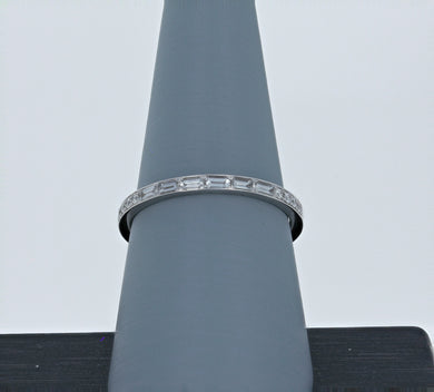 Simon G Diamond Wedding Band in 18K White Gold MR2220