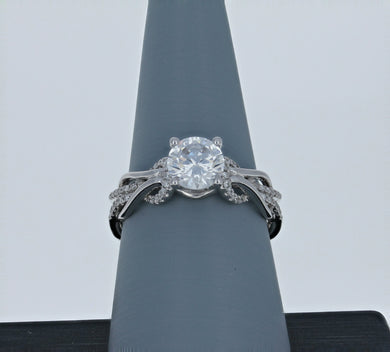 Simon G Engagement Ring in 18k White Gold MR2514