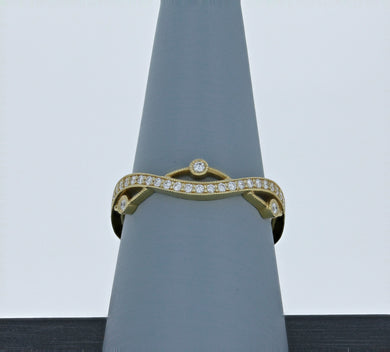 Simon G Diamond Wedding Band in Yellow Gold NR517-Y