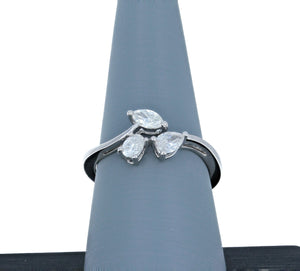 Simon G Engagement Ring Semi Mount in 18K White Gold LR2572