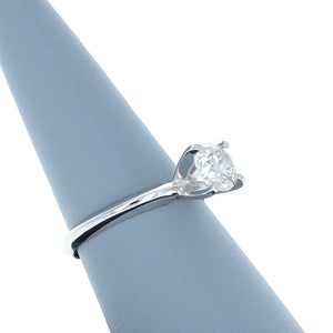Diamond Solitaire Ring with .91 carat diamond