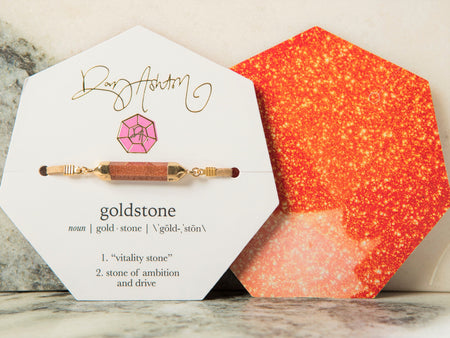 Gemstone Bracelet Goldstone