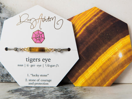 Tigers Eye Gemstone Choker