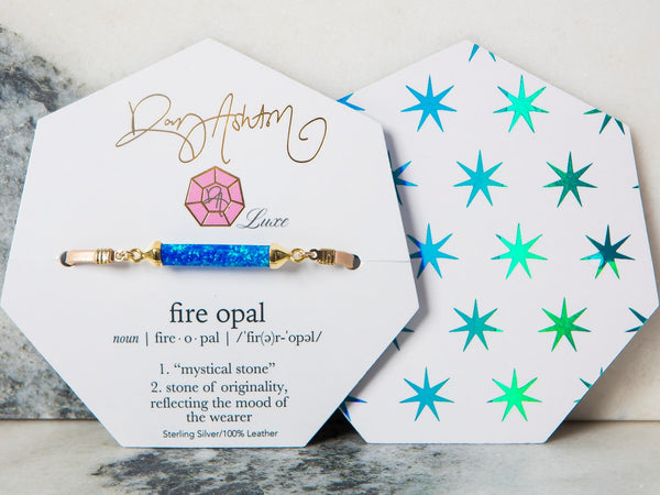 LUXE Fire Opal Teal