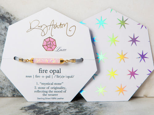 LUXE Fire Opal Baby Pink