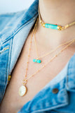 Rory Ashton Tiny Gem Necklace