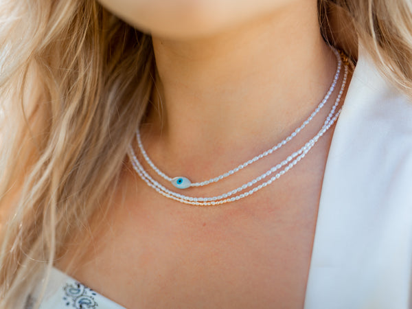 Ezra Freshwater Pearl Necklace