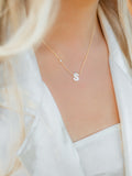 Custom Pearl Letter Necklace