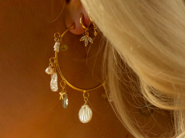 Cleo Earring - St. Lucia