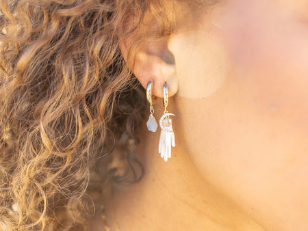 Dixie Huggie Earrings