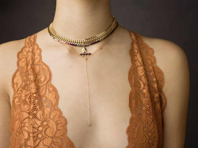 Viola Necklace