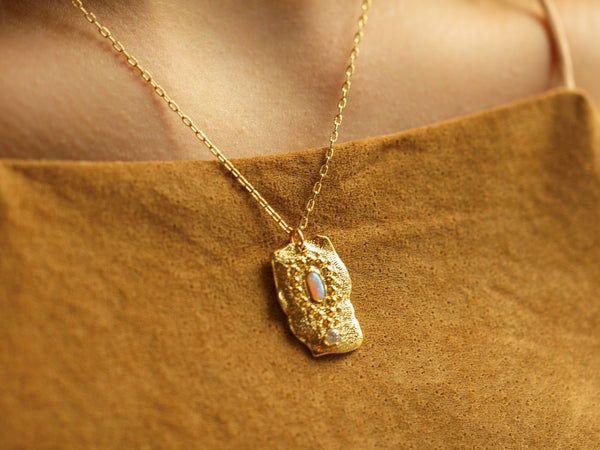 Sun Salutation Necklace