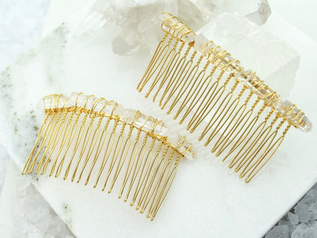 Quartz Hair Pin