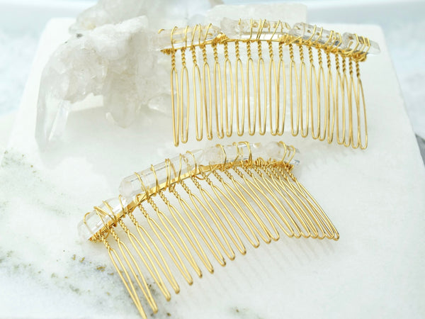 Quartz Hair Comb