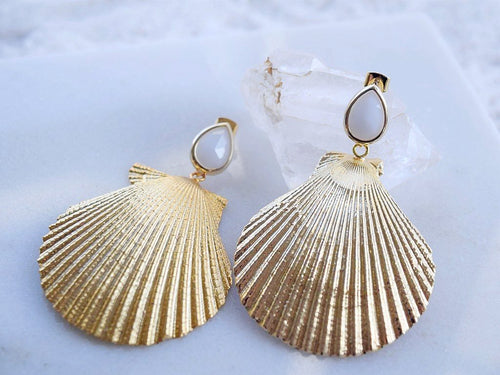 Siren Earring - White Sands