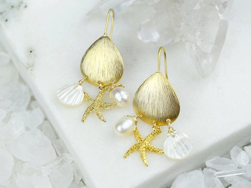 Excursion Earring - Pearl