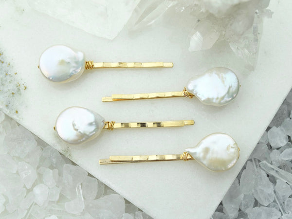 Baroque Pearl Hair Pin