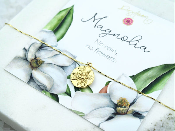 Magnolia Pendant Necklace