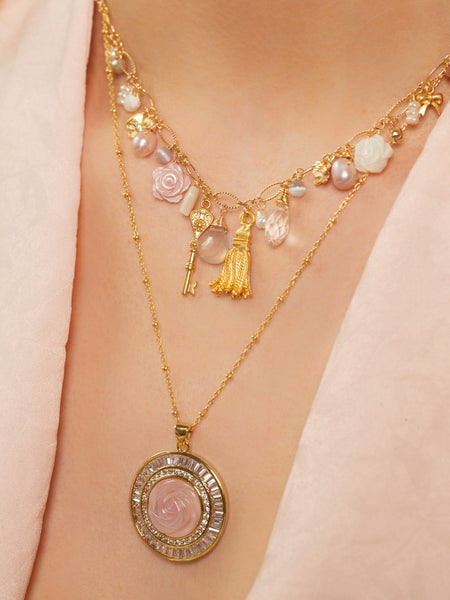 Cleo Necklace - Versailles
