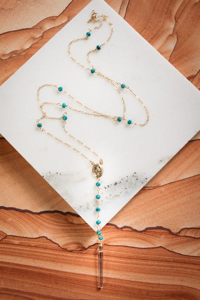 Turquoise Victoria Necklace