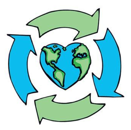 recycle love planet earth