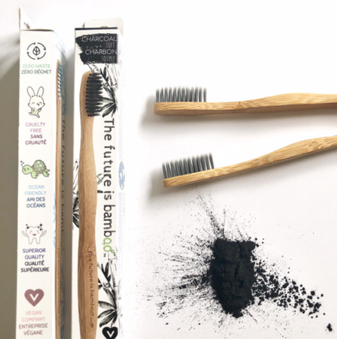 Adult Bamboo Toothbrush - Simple Good Gifts