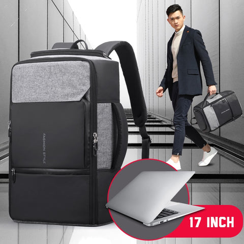 17 inch Laptop Backpack W/Anti theft