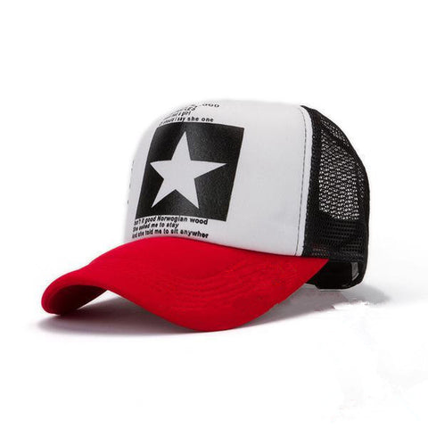 Luxury Big Star Cap