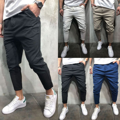 Men Pants Harem Joggers