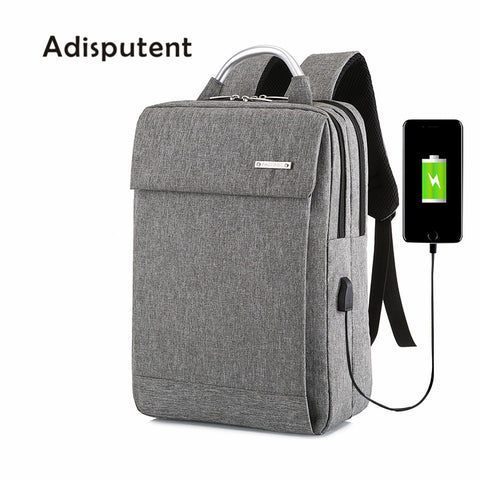 Adisputent Anti Theft USB Backpack