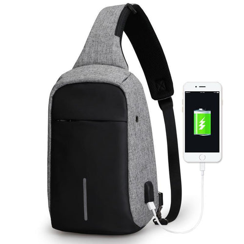 Smart Messenger Backpack