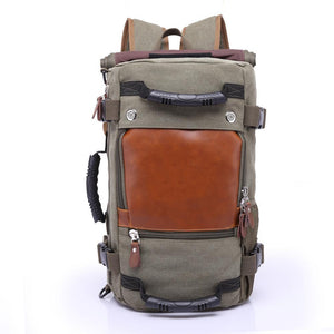 Vintage Versatile Travel Backpacks | 2 Colours