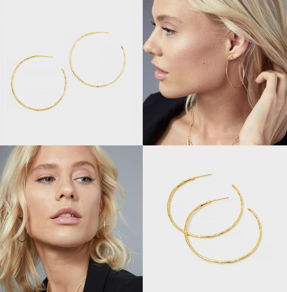 Taner Hoops Gold