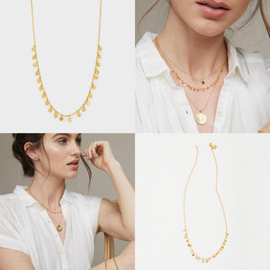 Chloe Mini Necklace Gold