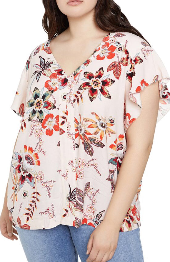 Sanctuary Desert Floral Shirt