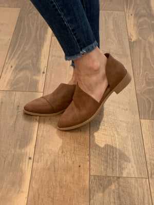 Freya Cut Out Slip-on Heel Booties