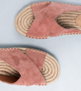 Suede Slides Summer Shoes