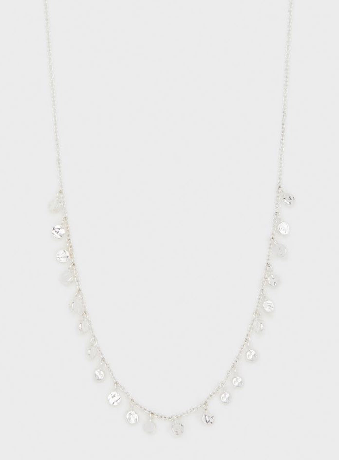 Chloe Mini Necklace Silver