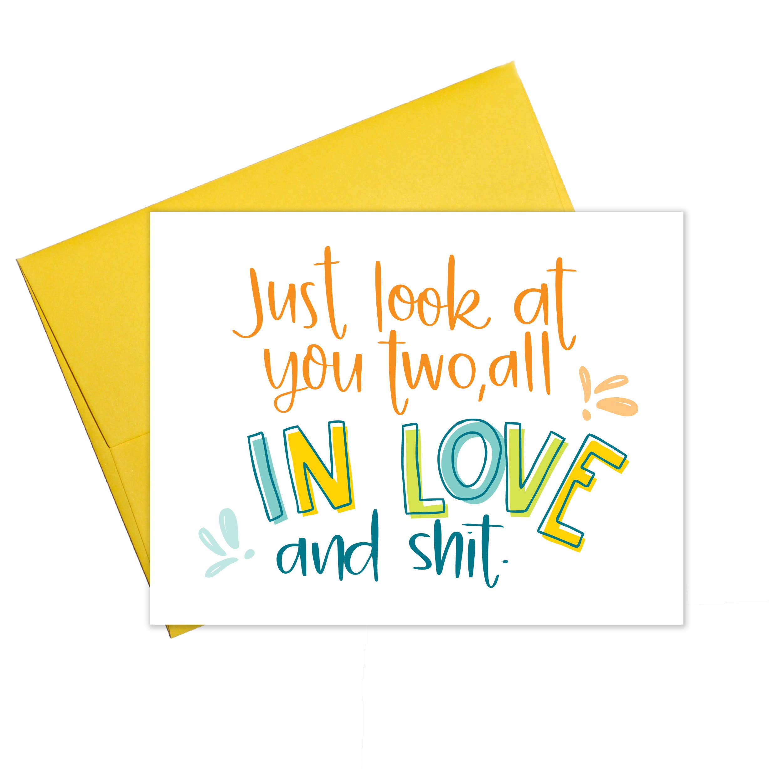 All In Love and Shit Card