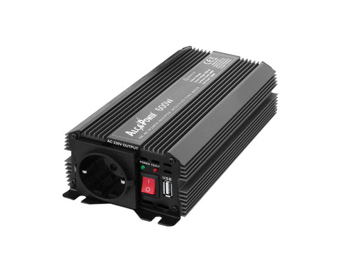 Inverter Soft Start 600W Input 12V DC Out 230V AC