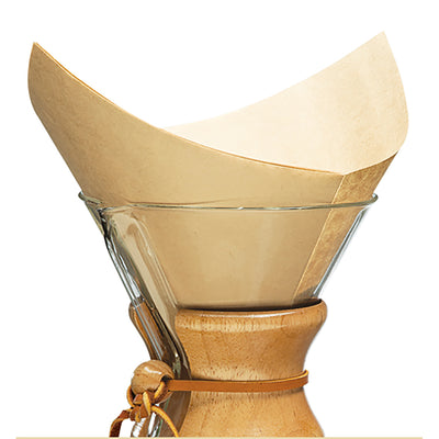 Five Cup Handblown Glass Chemex
