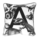 Luxury Velvet Letter A Cushion